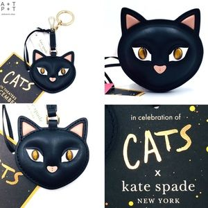 Kate Spade x Cats Coin Purse & Key Fob